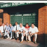 Old faces at Llanelli 198?